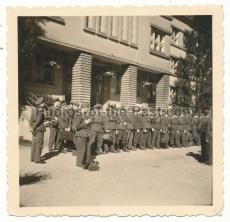 Infanterie Uffz mit deutschem Kreuz in Gold
