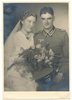 Portrait Feldwebel Hochzeit Degen Heer