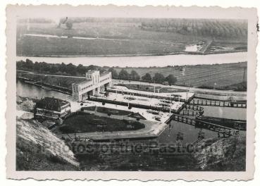 Marne Kanal Schleuse Albert Kanal Belgien