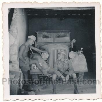 Hoch Kübelwagen Afrika Korps Rommel Wüstenkämpfer PKW