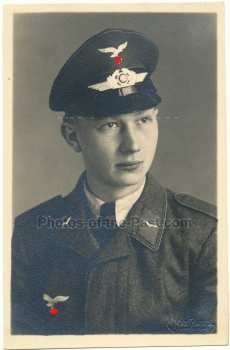 Portrait Flieger Luftwaffe