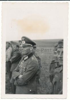 Ritterkreuzträger Helmut Friebe Kommandeur Infanterie Regiment 419