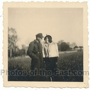 SS Schirrmeister mit Ehefrau