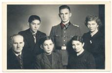 SS Hauptscharführer mit Familie Portrait Foto