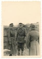 Divisionskommandeur der 4. Gebirs Division mit Ritterkreuz ! Gebirgsjäger Offiziere