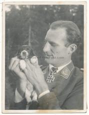 Ritterkreuzträger Hauptmann Spies Luftwaffe Zerstörergeschwader ZG 26