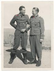 SS Untersturmführer und SS Oberscharführer SS Panzer Division Das Reich