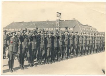 Ritterkreuzverleihung Zingst 1943 Offizier mit Deutschem Kreuz in Gold