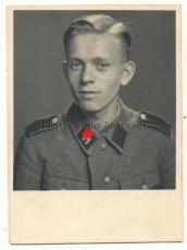 Pass Portrait Waffen SS Schütze ! Erinnerung an Wien 1942