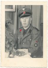 Portrait Waffen SS Oberschütze