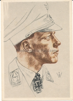 Willrich VDA Ritterkreuzträger Postkarte Major Wick