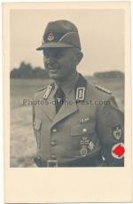 Portrait RAD Führer mit Orden und Abzeichen