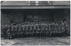 3./ SS Wachbataillon Prag 14 Gruppenbild Portrait im März 1944 ! SS Totenkopf Wach Bataillon ! Tschechien Sudetenland !