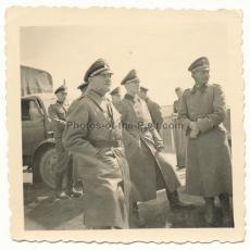 SS Oberst Gruppenführer Sepp Dietrich mit Ritterkreuz - Kommandeur der SS Leibstandarte Adolf Hitler - LAH