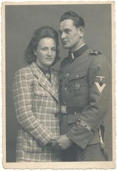 Portrait SS Rottenführer Leibstandarte Adolf Hitler LAH cuff title