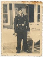 Panzermann mit Ritterkreuz - Ritterkreuzträger der Panzertruppe