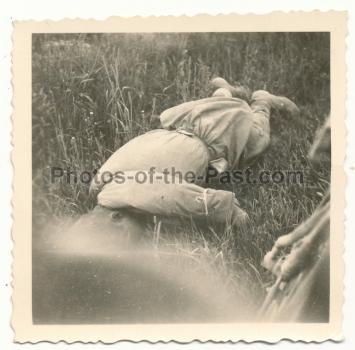 Toter russischer Soldat 1941