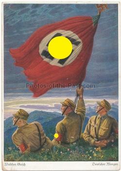 Propagandakarte - Deutscher Morgen - Walther Gasch - Postkarte - Ansichtskarte
