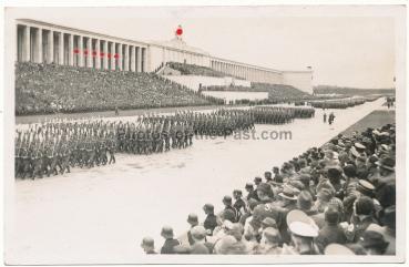 RAD Arbeitsmänner Parade Reichsparteitag Nürnberg