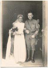 Hochzeit SA Sturmmann - Sturmabteilung - SA Dolch - Portrait