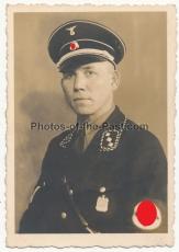 Portrait Foto SS Untersturmführer Wolfenbüttel 1934