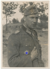 Ritterkreuzträger des Heeres - Wilhelm Bröffel - Grenadier Regiment 502 - 290. Infanterie Division - Deutsches Kreuz in Gold Träger