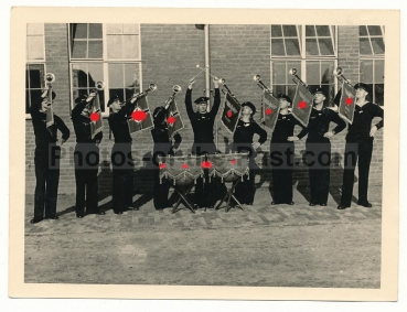 Marine 14. S.St.A. Breda Holland Musik