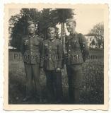 Waffen SS Mann 1942 mit Wehrmacht Kameraden