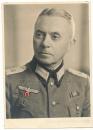 Portrait Major Wehrmacht Chef Wehrkreisnebenauskunftsstelle Dirschau