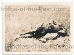 Toter französischer Kolonial Soldat an der Marne
