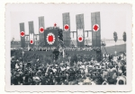 Rednerbühne für Adolf Hitler