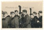 SS Männer Ärmelband Braunschweig am Scherenfernrohr