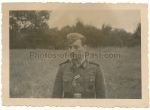 Soldier with iron cross EK II award