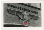 Wehrmacht Adler vor Infanterie Schule