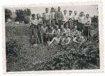 SS Männer beim Arbeitsdienst mit Ausbilder