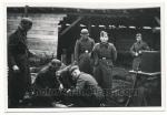 SS Männer mit Ausbilder 1941