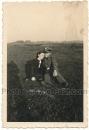 Waffen SS Mann mit Frau