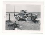Panhard Panzerspähwagen Wrack Toter Soldat Champagne Frankreich