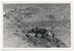Toter Soldat mit Essgeschirr