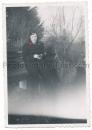 Frau in SS Uniform - zwei Fotos - SS Helferin SS Gefolge