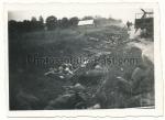 Tote Soldaten im Straßengraben Ostfront Russland 1941