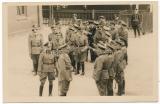 Adolf Hitler with SS officers at Munsterlager
