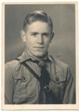 Pass Portrait Hitlerjunge aus Koblenz !