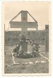 Grab von Ritterkreuzträger Oberleutnant Otto Schulz IR 125 gefallen 1941