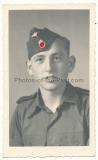 Portrait Foto Waffen SS Angehöriger der 12. SS Panzer Division Hitlerjugend