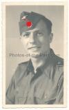 Portrait photo Waffen SS 12. SS Panzer Division Hitlerjugend