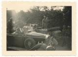 SS Leibstandarte Männer im Mercedes G 4 PKW in Polen 1939