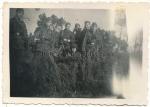 Konvolut 4 Fotos SS Panzergrenadier Regiment 6 Theodor Eicke - SS Division Totenkopf