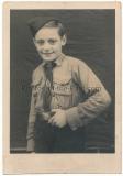 Portrait Foto Hitlerjugend Pimpf