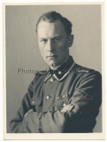 Portrait Waffen SS Unterscharführer mit Ärmelband Das Reich